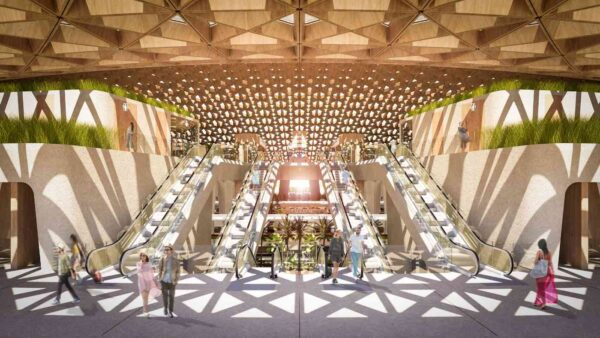 Stunning Train Station Being Built in Mexico Uses Mayan Design to Bring Sea Air in and Keep Rain Out